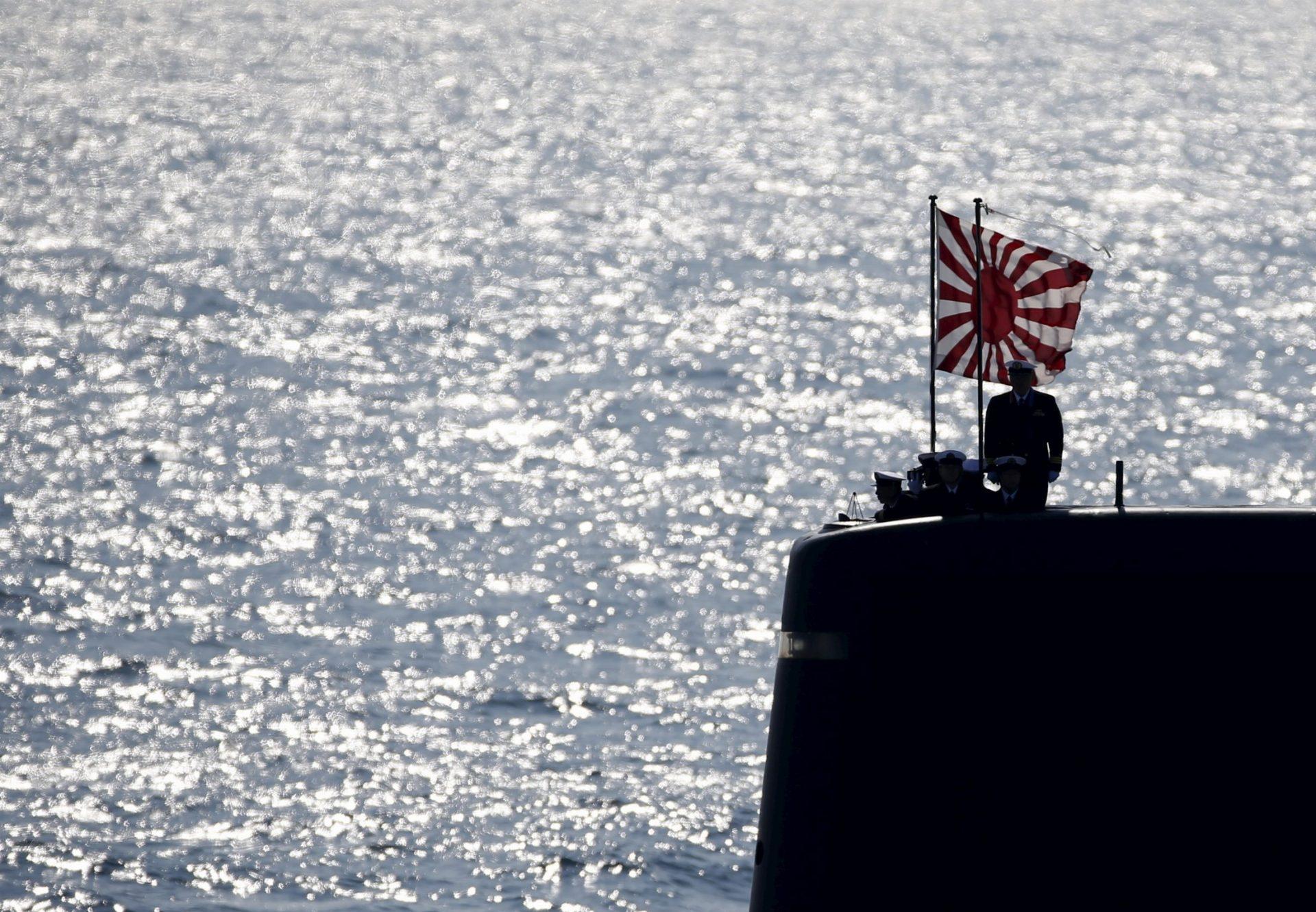 海上自衛隊の最新鋭潜水艦「たいげい」進水