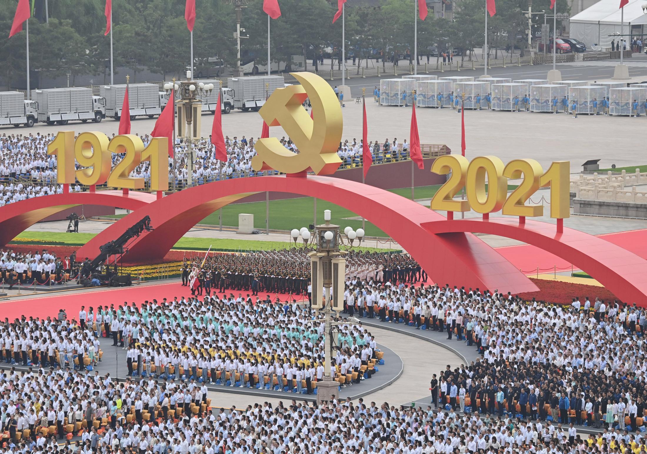 中国共産党100年式典をどう見るか、習近平の野望第二弾(元統合幕僚長の岩崎氏)
