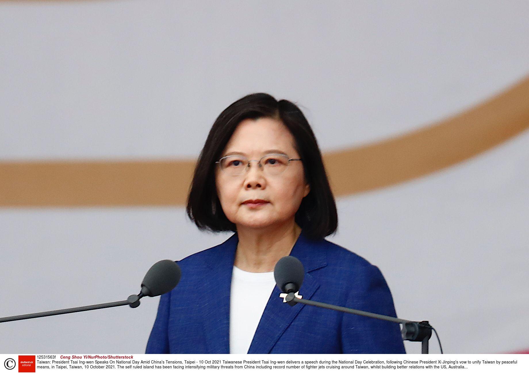 緊張高まる台湾情勢